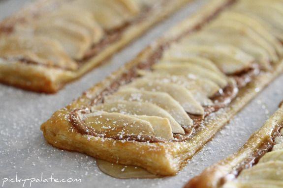 Apple Peanut Butter Tart 3