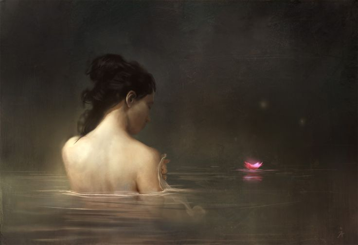 Bathing by gerezon.deviantart.com on @deviantART