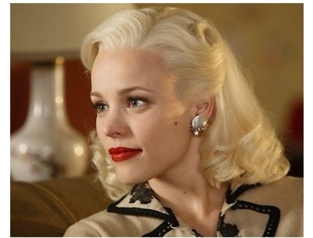 hair styles rachel mcadams hair 50 s hairstyle married life 50s