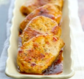 Cream of Mushroom Bone In Pork Chops, Add PWs garlic and onions from chicken breast recipe