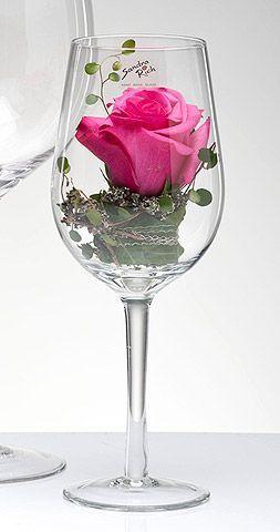 Das Riesenweinglas XXL Vase oder Teelicht. Dekorieren Sie Ihre Veranstaltung mit