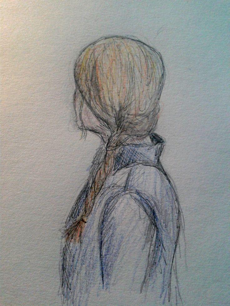 #sketch #braid #girl