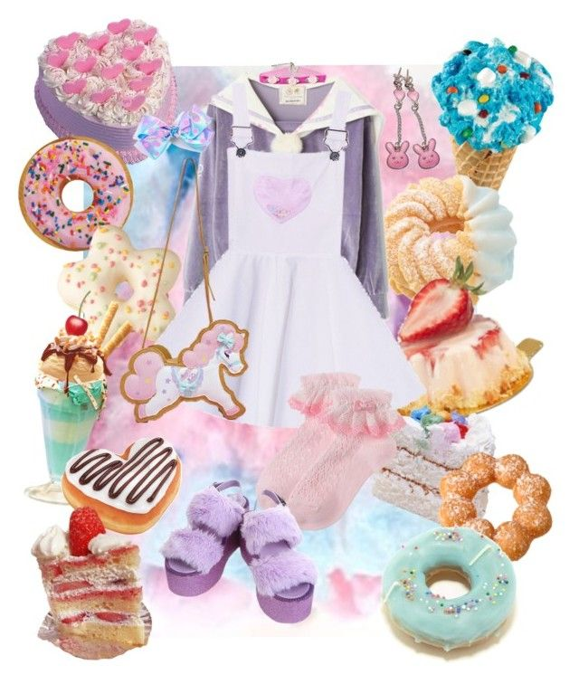 """""""notitle"""" by mumachan on Polyvore featuring ファッション と Cotton Candy"""
