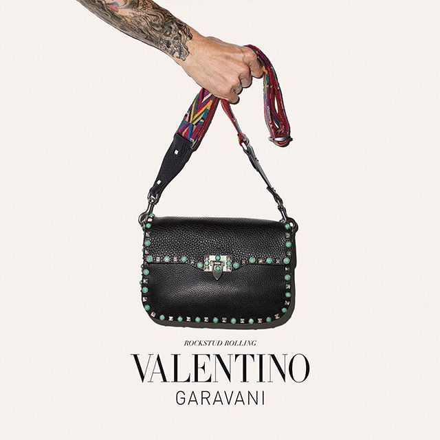 Rock Your Style With Rockstud Rolling Valentinogaravani Spring2017 Essentials Bag Comes