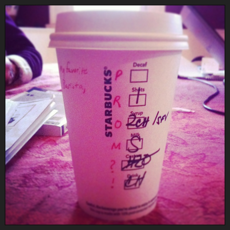 149 best prom images on pinterest photography prom pictures best way to get asked to prom starbucks ccuart Gallery