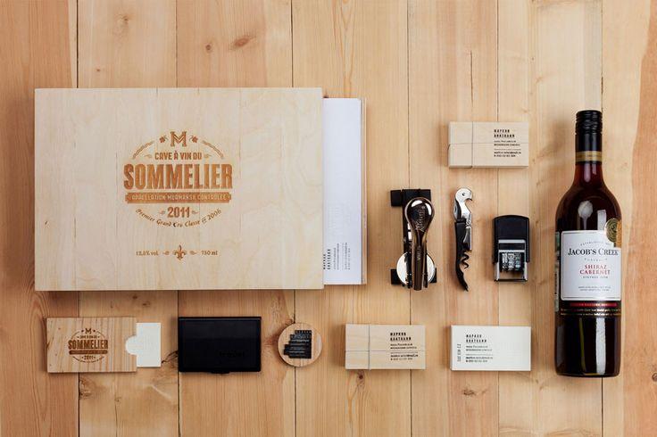 Sommelier Markov Anatoly by Pavel Emelyanov: Business Cards, Visual Identity, Identity Branding, Pavel Emelyanov, Personalized Identity, Graphics Design, Identity Design, Branding Identity, Pavelemelyanov
