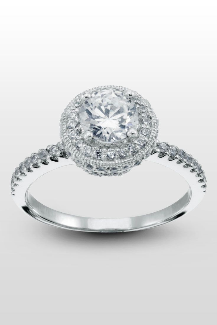 Jubilee  The Ornate Halo Of This Round Cut Engagement Ring Will Make Her  Heart Melt