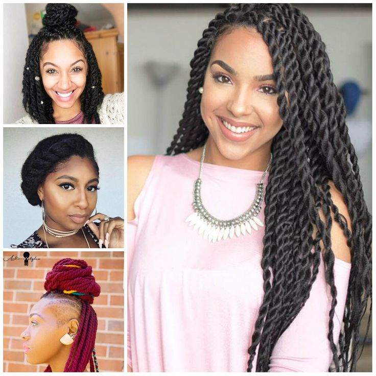 1000+ Ideas About Natural Twist Hairstyles On Pinterest