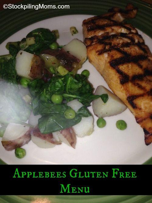 Applebees Gluten Free Menu