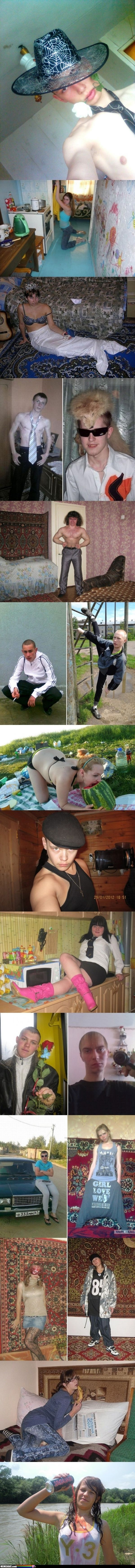 19 Pictures From Russian Dating Sites. These are so funny! I perfectly understand, simply by looking at the photos, why they are probably having a hard time getting a date.