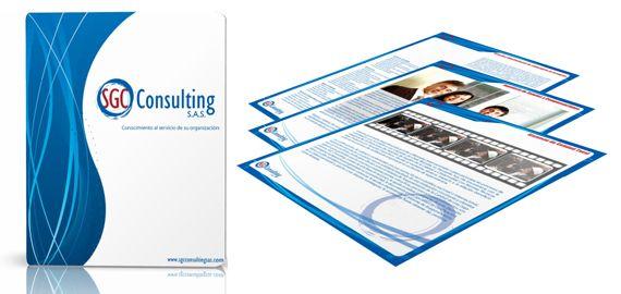 Carpeta brochure