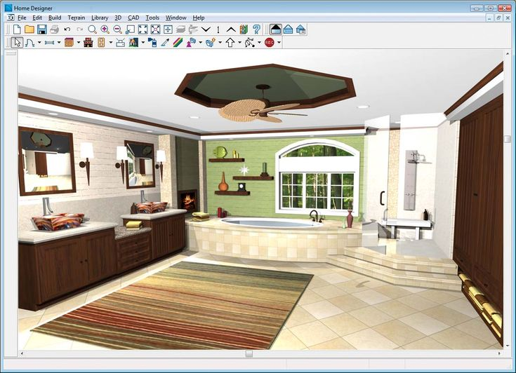Interior Designs The Elegant Home Design File Edit Insert Tool View Library Help Window Interior Design Software Free To See A Harmonious