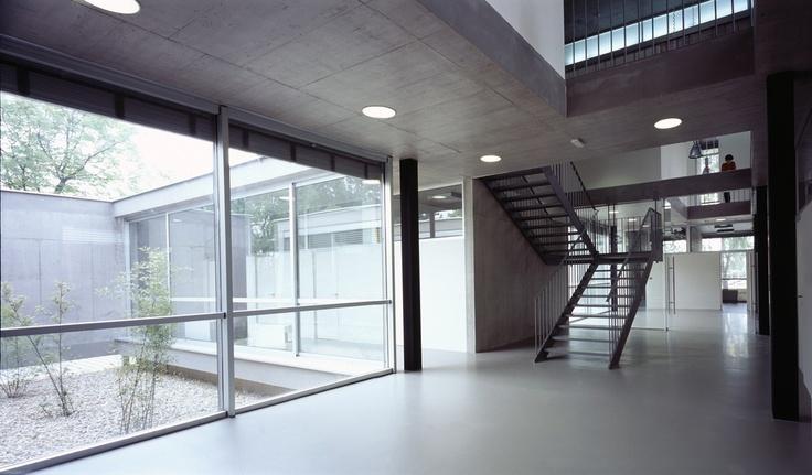 G-vloeren kantoorvloer met een prachtige gietvloer.