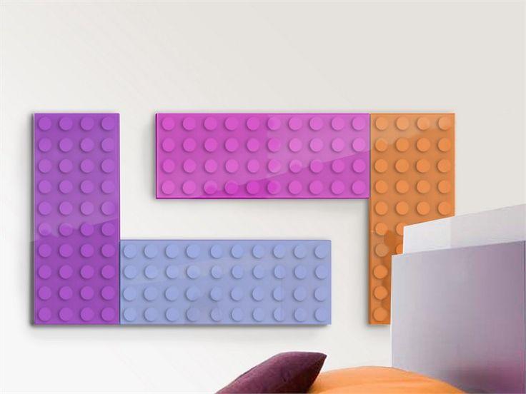 Dual energy decorative radiator BRICK Design Collection by SCIROCCO H | design Marco Baxadonne