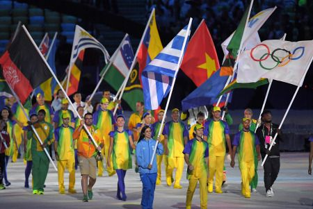 <リオ五輪>閉会式 難民選手団旗手「もっと練習したい」 #オリンピック #リオ五輪