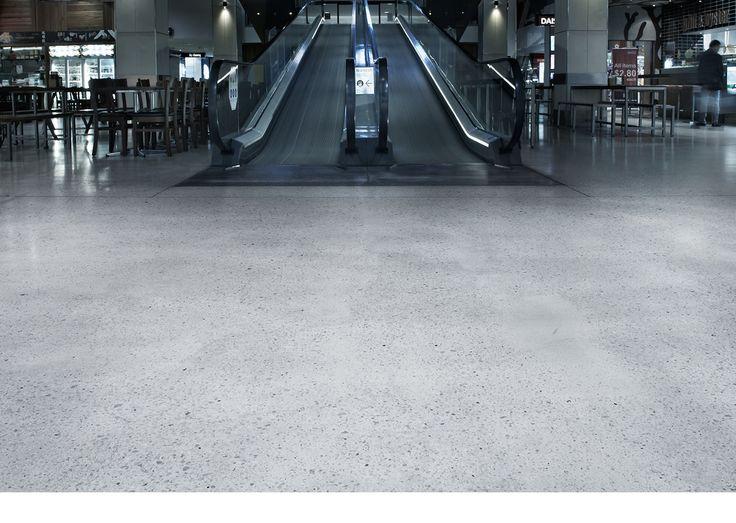 Polished Concrete Floors - Polishing Concrete with Husqvarna HiPERFLOOR®