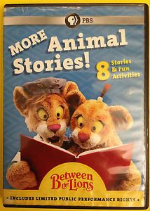 SOLD!  Between the Lions. Award winning PBS series designed to help kids 3 - 7 learn to read.