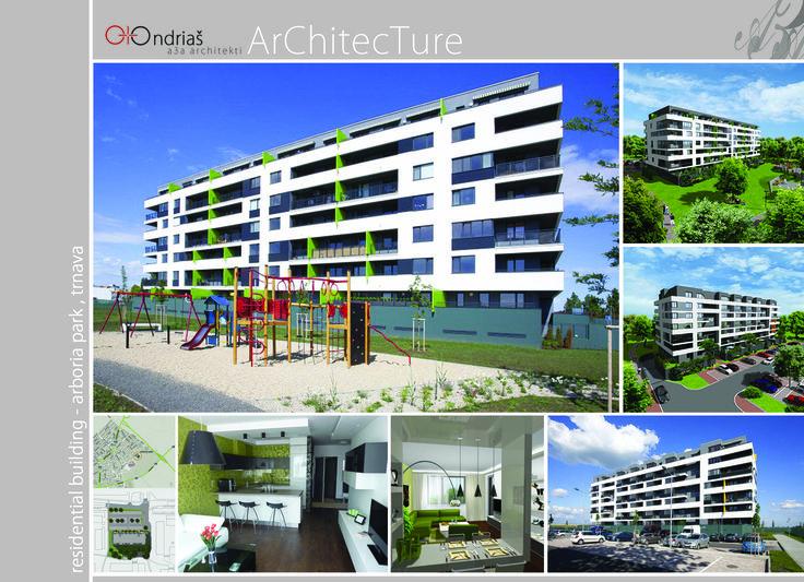 Residential building ARBORIA PARK, Trnava 2012