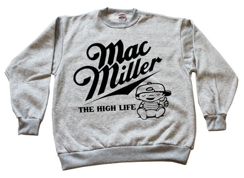 MAC MILLER HIGH LIFE CREWNECK