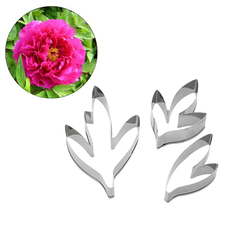 3 Pcs Fondant Cake Decoration Floral Petal Petals Cutter Flower Mold Peony Stainless Steel Cake Decorating Tools  on Aliexpress.com | Alibaba Group