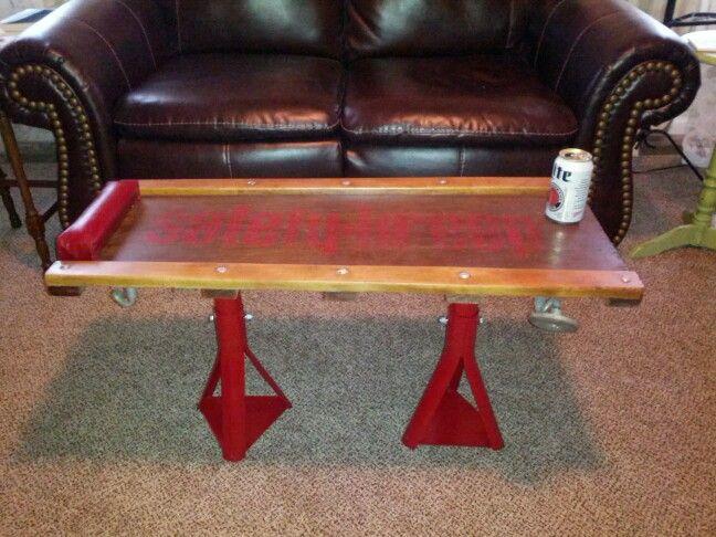 Mechanic Creeper Coffee Table Handmade Furniture