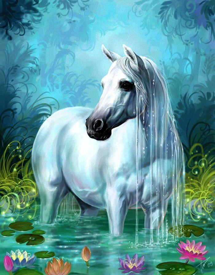 ним живые картинки с лошадью наш