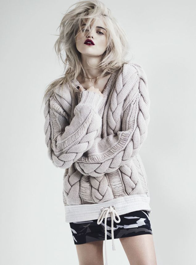 Sky Ferreira Poses for Andrew Yee in S Moda March 2013   Fashion Gone Rogue: The Latest in Editorials and Campaigns