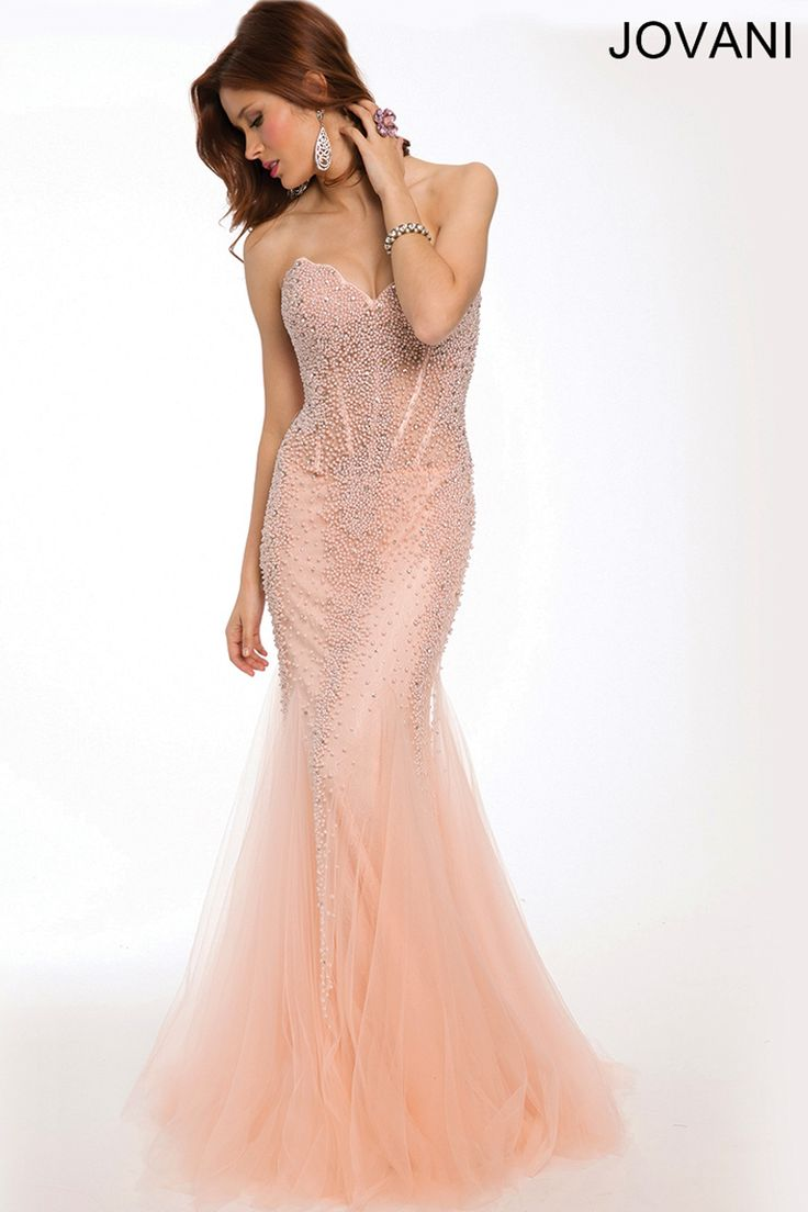 Strapless Mermaid Dress 98047