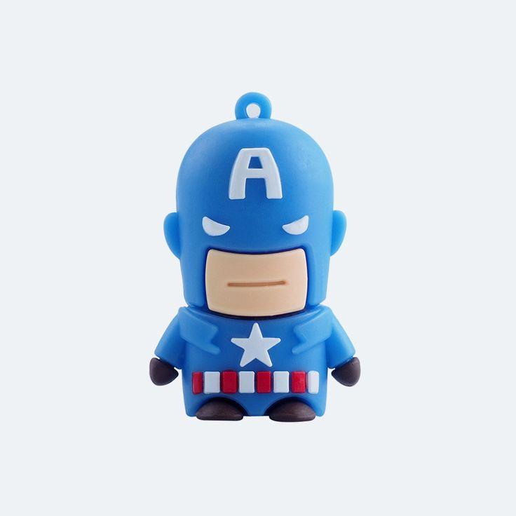 Amerika Kapitány Pendrive