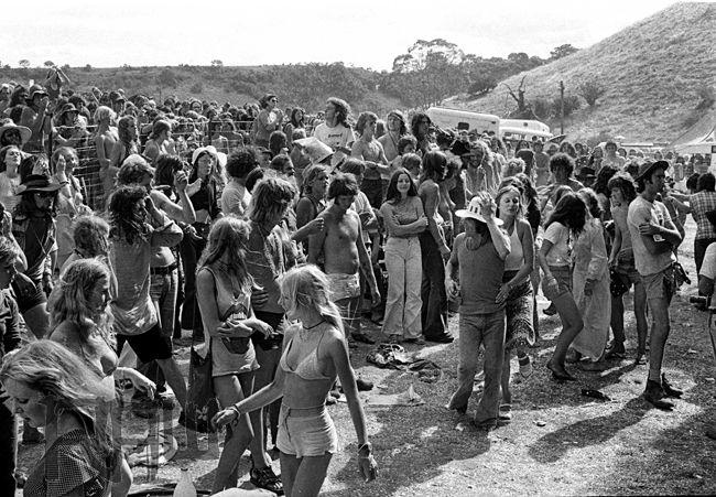 Sunbury Musical Festival Australia 1974 Photographer Philip Morris