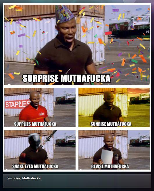 James Doakes / Surprise Motherfucker, Dexter Meme