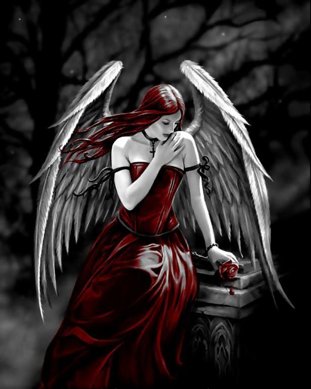 тема картинки готика ангелы жизнь шакура