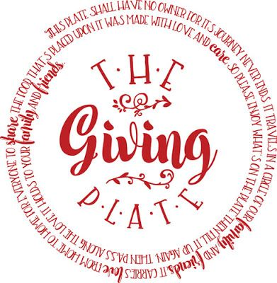 Burton Avenue: Freebie Friday - The Giving Plate