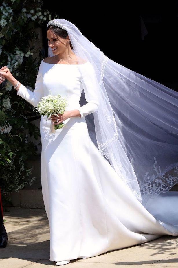 Einfache Brautkleider Inspiriert Von Meghan Markle Teil 2 Echte