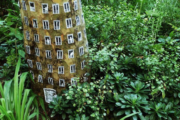 Arbres à louer : du street art pour sensibiliser au mal-logement