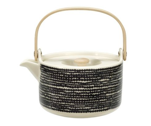 Marimekko dot teapot black dot  http://www.collectedbytas-ka.com/webshop/product_info.php?products_id=945