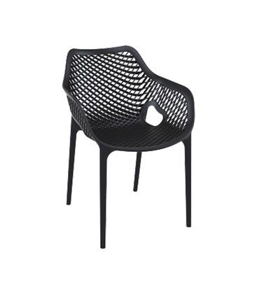 AlleEetkamerstoelen Neves een trendy stapelbare tuinstoel vervaardigd uit hard kunststof. Een praktische en stijlvolle designstoel voor in de tuin, het balkon of als extra stoel voor feesten en partijen.
