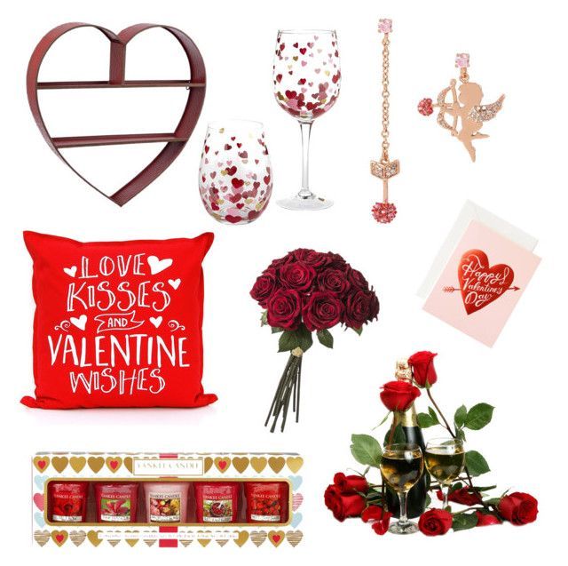 Valentine Stuff <3 by rosehage on Polyvore featuring polyvore, interior, interiors, interior design, home, home decor, interior decorating, Yankee Candle and Betsey Johnson