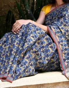 Another beautiful Kalamkari saree