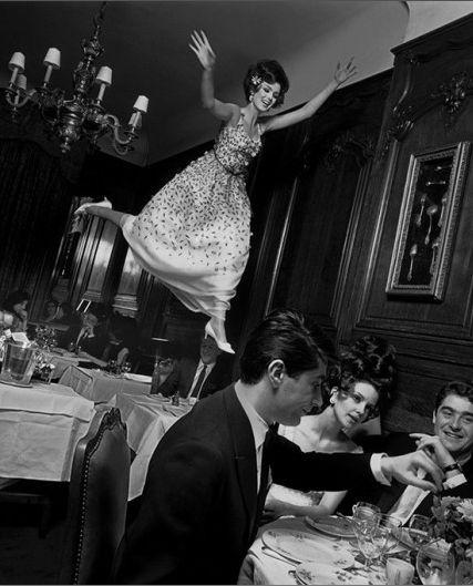 """fly"" - dior spring collection, paris, 1965 /  photo: melvin sokolsky"