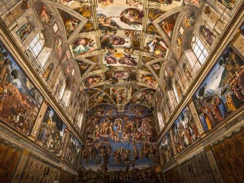 It is within the Sistine Chapel, in the Apostolic Palace in Vatican City, that cardinals traditional... - Photo RPBaiao / Shutterstock.com