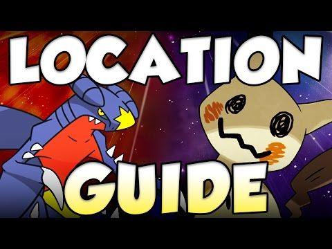 5 BEST RARE POKEMON LOCATIONS IN POKEMON SUN AND MOON - Type Null Location Pokemon Sun and Moon - YouTube