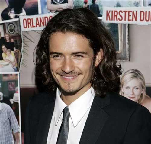 Hot Famous Men with Long Hair