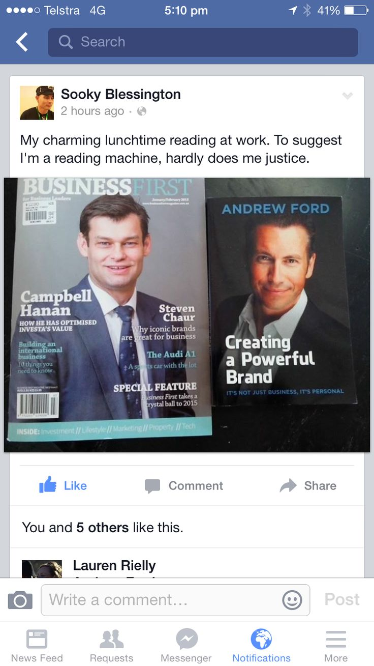 Love it when readers post your book on social media!