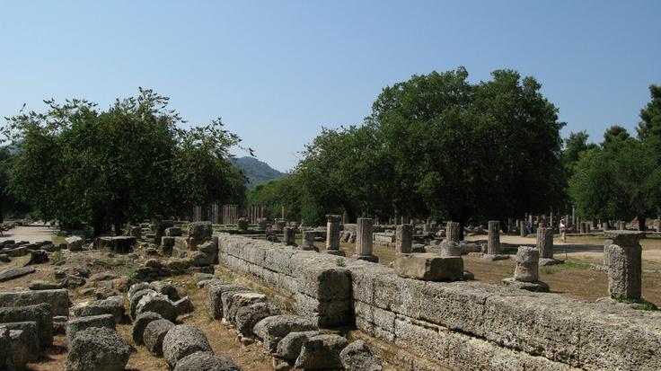 Olympia Ruins, Greece