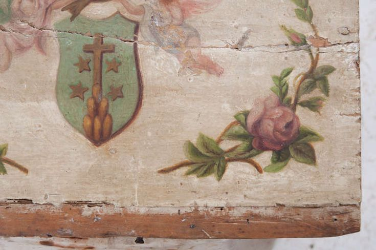 Italian 18th Century Religious Painting with Cherubs at 1stdibs