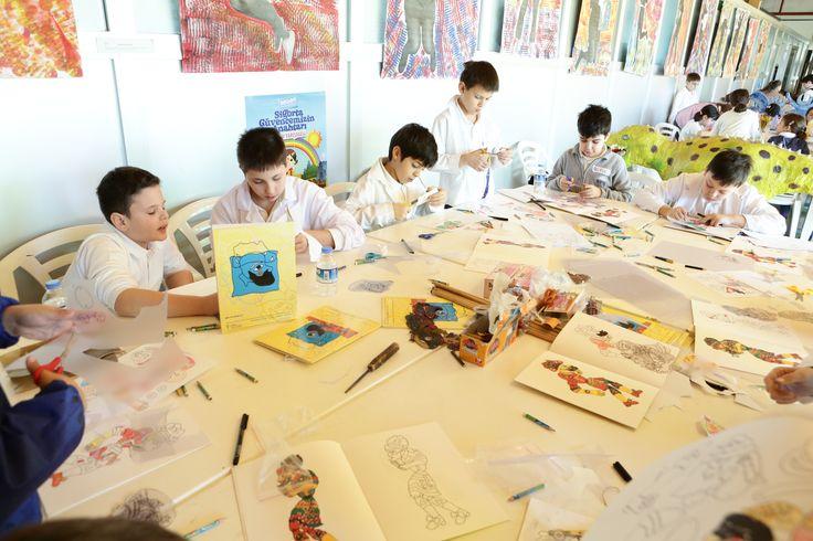 Ortaokul-Lise Görsel Sanatlar Sınıflarımız