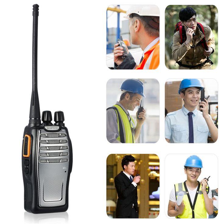 BaoFeng 16CH FM UHF 400-470MHz Talkie Sales Online Array - Tomtop