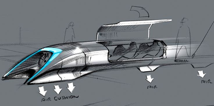 Elon Musk's Hyperloop concept makes a fast California bullet train look slow.