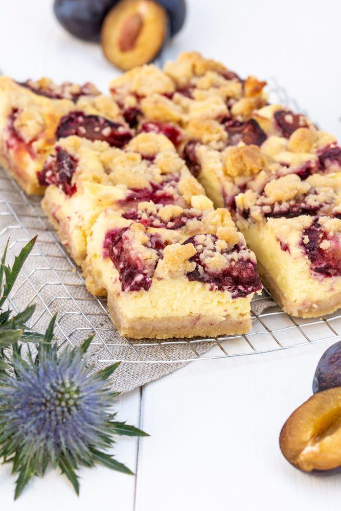 Zwetschken Topfen Streuselkuchen Desserts Sweets Pinterest